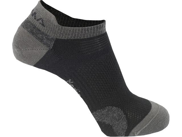 Aclima Ankle Sokken 2 Pack grijs/zwart